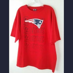 New England Patriots Graphic Tshirt Sz XL